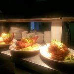 Our fabulous Line Caught Cod & Chips with mushy peas & tartare sauce