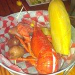 Thursday special, Lobster dinner.