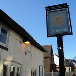 Old Sun, Harlington, sign