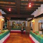 Buffet lors de la soirée mexicaine