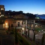 Night view over Ghiradelli Square