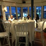 Great sunset views from the new dining room at Quicks Hole Tavern.