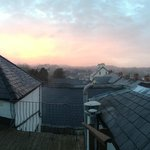 Room 6 Roof Terrace View of Sunrise