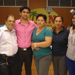 Rajesh, Susheel, Dianne, Ritu and Helen