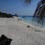 Spiaggia vista dal resort