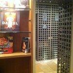 Wine cellar downstairs