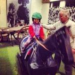 Riding a winner