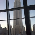 Clear view of Empire State Building