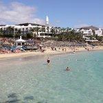 View of Princesa Yaiza and Playa Dorada