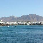 centre of Playa Blanca
