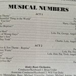 Musical Numbers