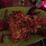 lobster spaghetti (huge plate)