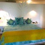 Colorful, tasteful room