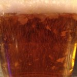 Garlic beer -- yes, chunks of garlic in the beer