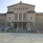階段の上の美術館