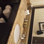nice big bathroom sink