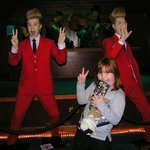 jedward are annoying even in wax.
