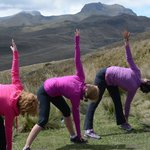 Take your practice to 14,000ft with EcuadorMVI's unique Yoga Retreats