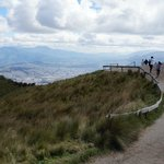 Spend a day in Quito and take the Teleferico for this amazing view of Quito