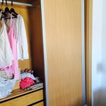 Moderna fräscha garderober