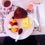 My choice of breakfast - yumm!!!