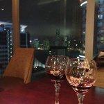 aperitivo al rhombus club, 38 piano con vista