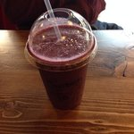 large chocoberry smoothie