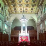 Interior of the Senate - Tour of Parliment