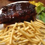 1/4 Ribs and French Fries Appetizer for $7.95