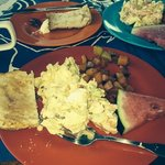 great breakfast in Isabela PR! bueno!