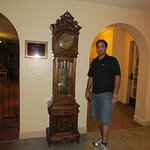 Grand father clock in the lobby