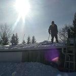 Canadian winters @ Bridgeview!