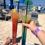 Cheers to Paradise Beach!