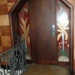 doors inside the bar