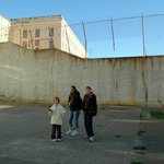 Me, my Mum and my sister at Alcatraz.