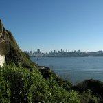 View of the city from Alcatraz.