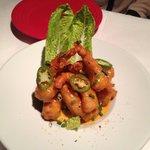 Hot rock shrimp