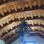 wooden ceiling in another room