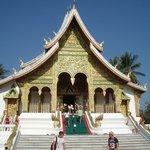Pha Bang Buddha pavilion