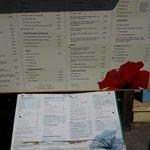 Outside menu.