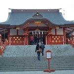 04花園神社 拝殿