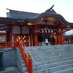 03花園神社 拝殿