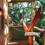 veranda of our treehouse