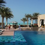 Family pool area, with direct access to the beach