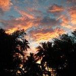 Sunset in Raro