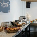 Our sumptuous breakfast buffet