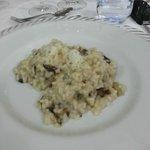 risotto radicchio e Castelmagno