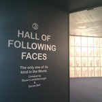 Hall of following faces