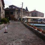 A view of Assos from Nazlihan Hotel