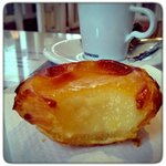 Portuguese custard tarts to die for...
